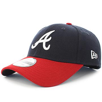 Casquette The League Atlanta Braves Bleu Marine Rouge