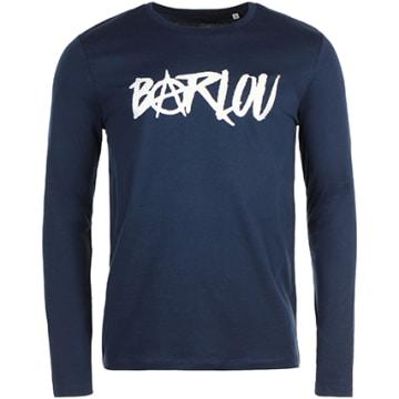 Neochrome - Tee Shirt Manches Longues Barlou Bleu Marine