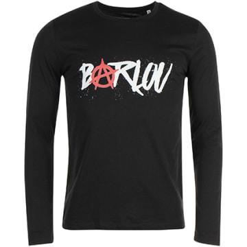 Neochrome - Tee Shirt Manches Longues Barlou Noir