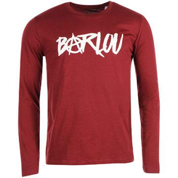 Neochrome - Tee Shirt Manches Longues Barlou Bordeaux