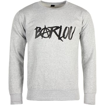 Neochrome - Sweat Crewneck Barlou Gris Chiné