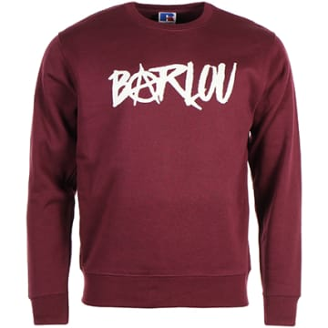 Neochrome - Sweat Crewneck Barlou Bordeaux