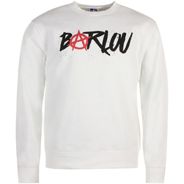 Neochrome - Sweat Crewneck Barlou Blanc