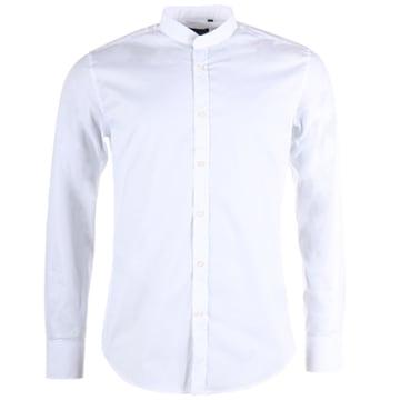 Chemise Manches Longues MMSL00376 Basic Blanc