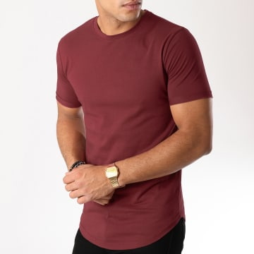Tee Shirt Oversize 95 Bordeaux