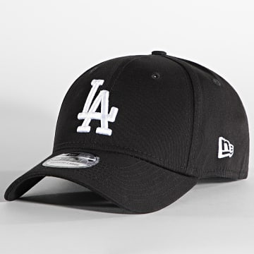 New Era - Casquette Fitted 39Thirty League Essential Los Angeles Dodgers Noir Blanc
