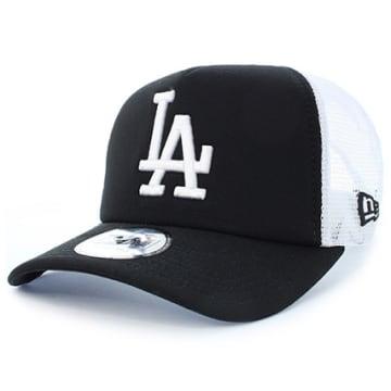 Casquette Trucker Clean Los Angeles Dodgers Noir Blanc