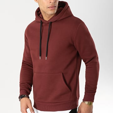 LBO - Sweat Capuche 69 Bordeaux