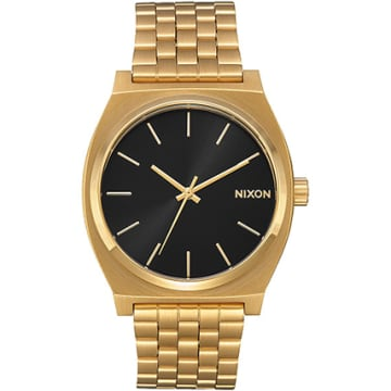 Nixon - Montre Time Teller All Gold Black Sunray