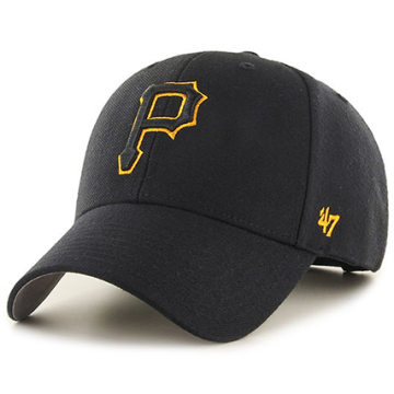 '47 Brand - Casquette 47 MVP Pittsburgh Pirates Noir