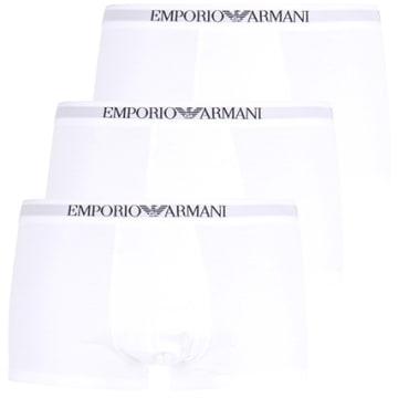 Emporio Armani - Lot De 3 Boxers 111610-CC722 Blanc