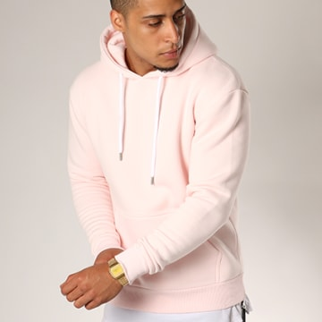 LBO - Sweat Capuche 122 Rose Pale