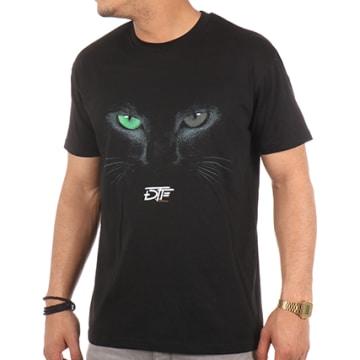 DTF - Tee Shirt Chat Noir Noir