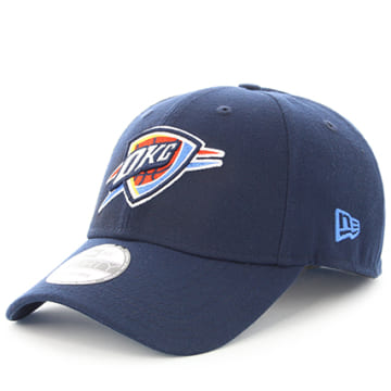 New Era - Casquette 9Forty The League NBA Oklahoma City Thunder Bleu Marine