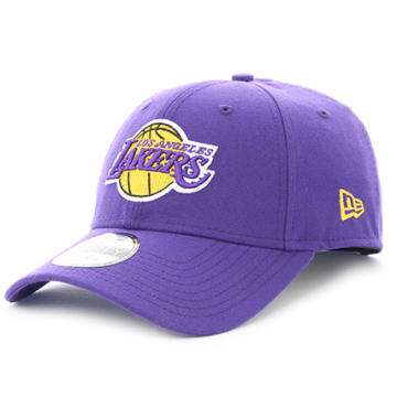 New Era - Casquette 9Forty The League NBA Los Angeles Lakers Violet