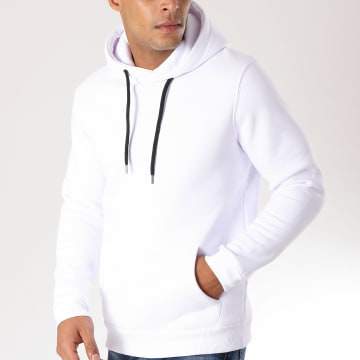 LBO - Sweat Capuche 168 Blanc