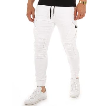 Jogger Pant P7618 Blanc