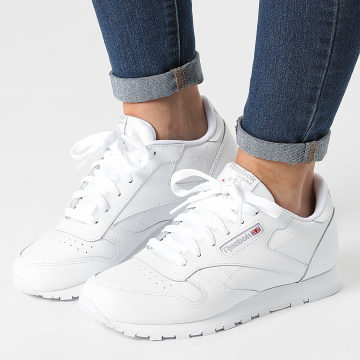 Reebok - Baskets Femme Classic Leather 50151 White