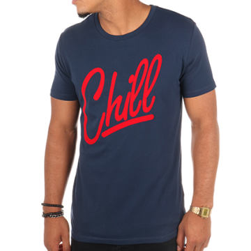Luxury Lovers - Tee Shirt Chill Bleu Marine