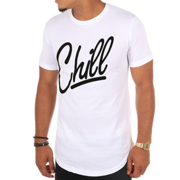 Luxury Lovers - Tee Shirt Oversize Chill Blanc