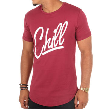Luxury Lovers - Tee Shirt Oversize Chill Bordeaux