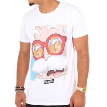 Thug N Swag - Tee Shirt Papy Pervers Blanc