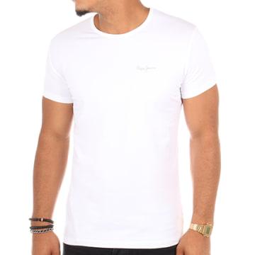Pepe Jeans - Tee Shirt Original Basic Blanc