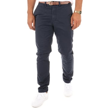 Jack And Jones - Pantalon Chino Cody Spencer Bleu Marine