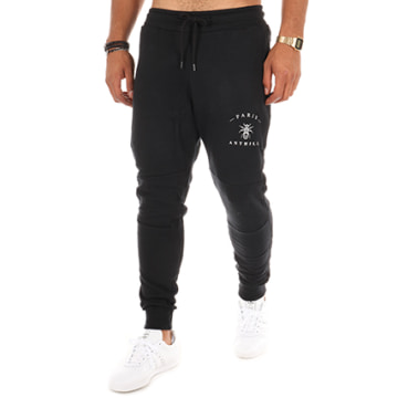 Anthill - Pantalon Jogging Logo Noir
