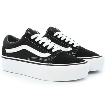 Vans - Baskets Femme Old Skool Platform A3B3UY28 Black White