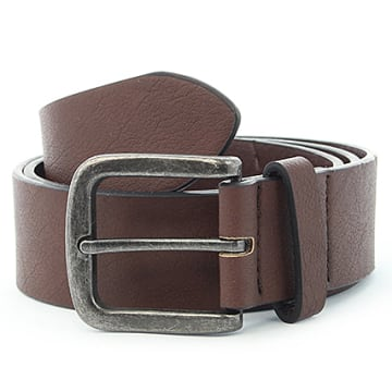 Only And Sons - Ceinture Cray Brown Stone Marron