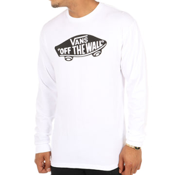 Vans - Tee Shirt Manches Longues OTW Blanc