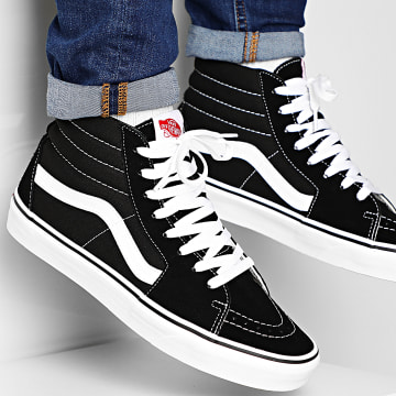 Vans - Baskets SK8 HI VD5IB8C Black White