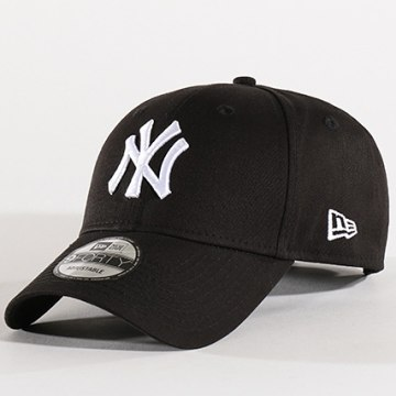 New Era - Casquette Baseball 9Forty League Basic New York Yankees Noir Blanc