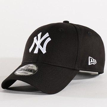 New Era - Casquette Baseball 9Forty League Basic New York Yankees Noir Blanc