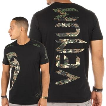Venum - Tee Shirt Original Giant Noir Camouflage