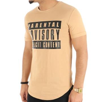 Tee Shirt Oversize Classic Logo Camel