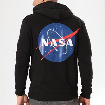 NASA - Sweat Capuche Insignia Noir