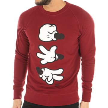 Thug N Swag - Sweat Crewneck Game Bordeaux
