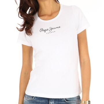 Tee Shirt Femme New Virginia Blanc