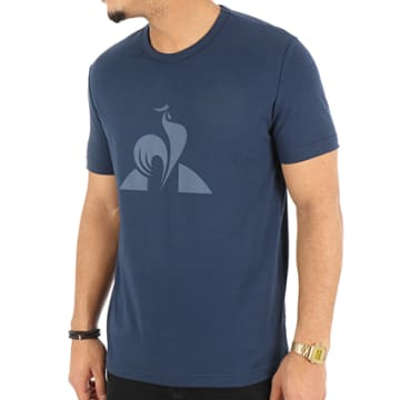 Le Coq Sportif - Tee Shirt Essentiels 1 Bleu Marine
