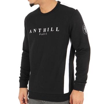 Anthill - Sweat Crewneck Bande Noir
