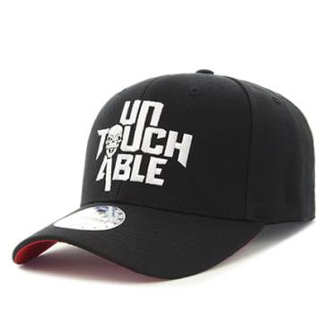 Untouchable - Casquette UTC Noir Blanc