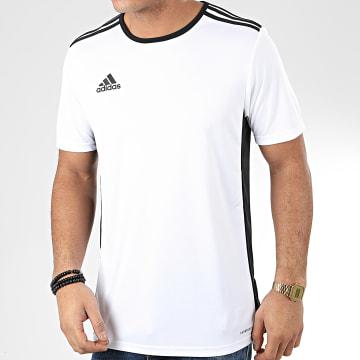 Adidas Performance - Tee Shirt De Sport Entrada 18 Jersey CD8438 Blanc