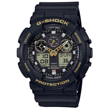 Montre G-Shock GA-100GBX-1A9ER Noir Jaune