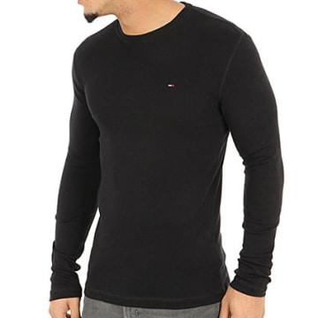 Tommy Hilfiger - Tee Shirt Manches Longues Original 4409 Noir