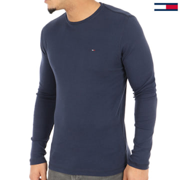 Tommy Hilfiger - Tee Shirt Manches Longues Original 4409 Bleu Marine