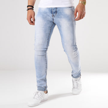 Jean Skinny 72175-1 Denim Bleu Wash