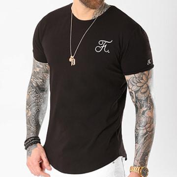 Tee Shirt Oversize Premium Fit Avec Broderie 001 Noir
