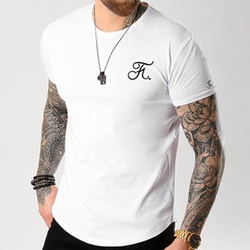 Final Club - Tee Shirt Oversize Premium Fit Avec Broderie 002 Blanc